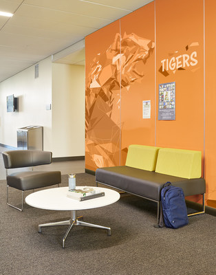 Formica Corporation introduces its latest solution for commercial settings: Formica Envision™ HardStop® Panels, a new line of high-performance, decorative wall protection panels that allows businesses to cater to their customers and design needs with custom graphics, all with a fiberglass core for added strength, resilience and fire resistance.