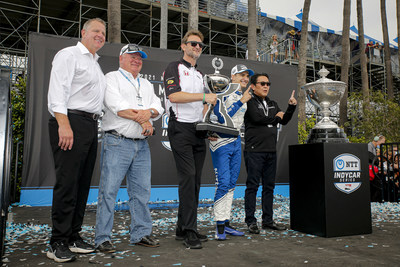 Honda-powered Alex Palou won the 2021 NTT IndyCar Series championship Sunday at the season-ending Acura Grand Prix of Long Beach. Honda also clinched its 10th IndyCar Manufacturers' Championship, and fourth in a row.