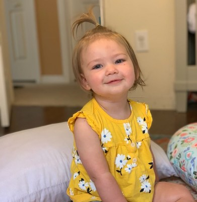 Mercedes Tanner, age 2, is seizure-free and thriving after having half of her brain removed during a hemispherectomy procedure at St. Joseph's Children's Hospital in Tampa, Fla.