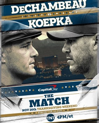Turner Sports to Exclusively Present Capital One's The Match Featuring Golf's Most Intense and Competitive Rivals – Bryson DeChambeau & Brooks Koepka – in Head-to-Head Showdown